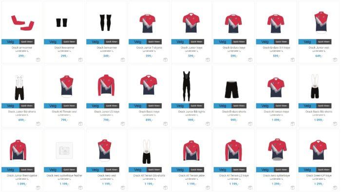 Nytt design og nye klær!